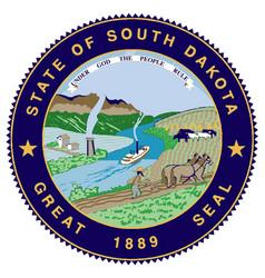 Great seal of south dakota vector