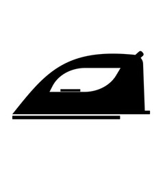 iron the black color icon vector image