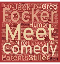 Meet The Fockers DVD Review text background vector