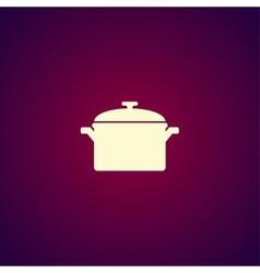 Saucepan icon vector image vector image
