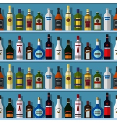 Bar seamless background vector image vector image