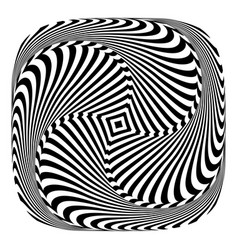 rotation movement vector image vector image