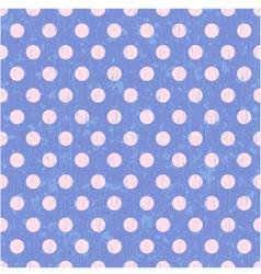 seamless circle dots background vector image