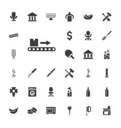 33 nobody icons vector