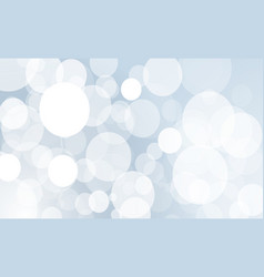 abstract bokeh circles light effect vector image