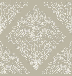 classic seamless white dotted pattern vector image