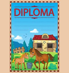 Diploma concept image 5 vector