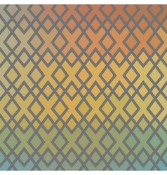 Ethnic chequered texture Abstract geometric vector