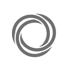 Letter O Logo Concept Icon vector image