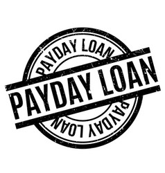 Payday loan rubber stamp vector