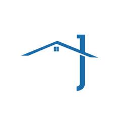 realty logo design concept and idea real estate vector image