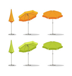 Set of different sunshades vector