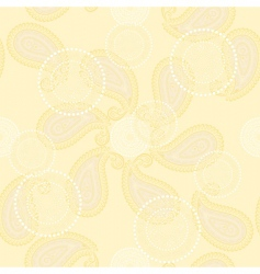 vector winter seamless background vector image vector image