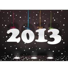 Happy New 2013 vector image vector image