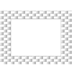 frame with modern design vector image