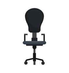 desk chair icon vector image vector image