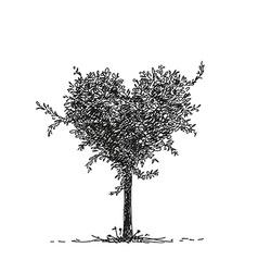 tree vector image vector image