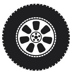 wheel - tyre vector image