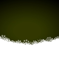 Winter Abstract Background with Snow Christmas vector image