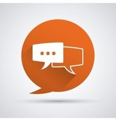 Conversation icons design vector