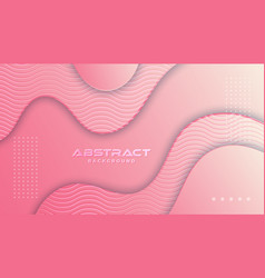 Dynamic textured background design in 3d style vector