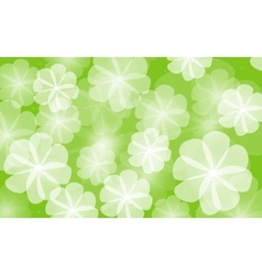 floral background flower vector image