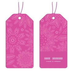 Pink abstract flowers texture vertical stripe vector