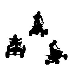 Quad bikes vector