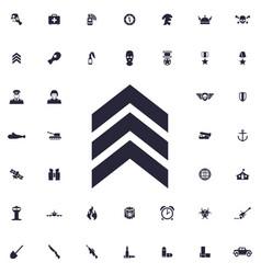 Rank icon vector