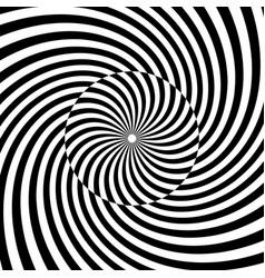 spiral swirl twirl vortex background vector image