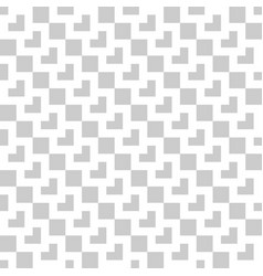 Tile grey and white pattern or background vector