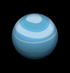 Uranus icon isometric style vector