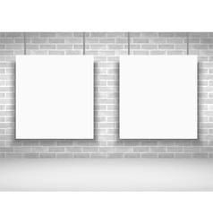 White Frames vector image vector image