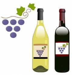 wine symbol vector image vector image