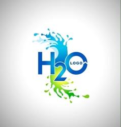 Water Logo Design vector image