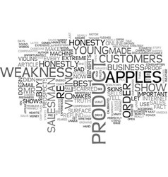 a sad truth that makes you rich text word cloud vector image