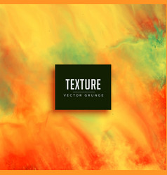 Colorful watercolor background texture paint vector