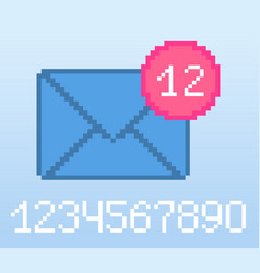 e-mail notification vector image