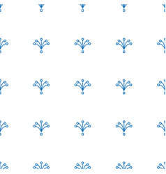 Fireworks icon pattern seamless white background vector