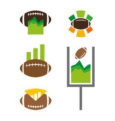 footballstats vector image