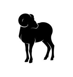 Goat logo design goat logo template vector
