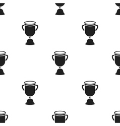 Goblet icon black Single education icon from the vector