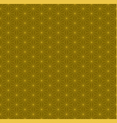 Hexagon six pointed star pattern design vector