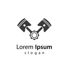 Piston logo images vector