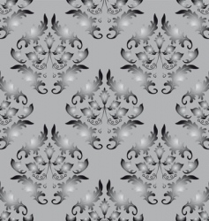 seamless background gray and black vector image
