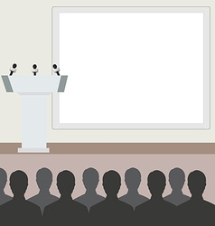 Conference vector image