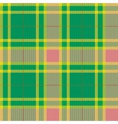Tartan plaid pattern Seamless vector image vector image