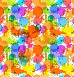 color blots vector image
