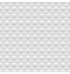 White seamless volume texture vector image vector image