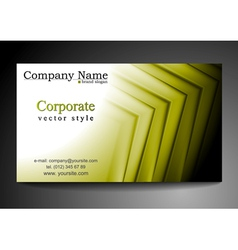 Abstract vibrant tech business template vector image
